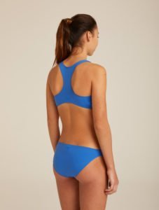 derrière maillot de bain bleu fashion ado ultra stretch