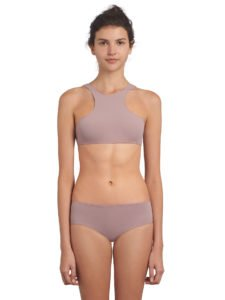 bas de maillot de bain pour adolescente rose ultra stretch