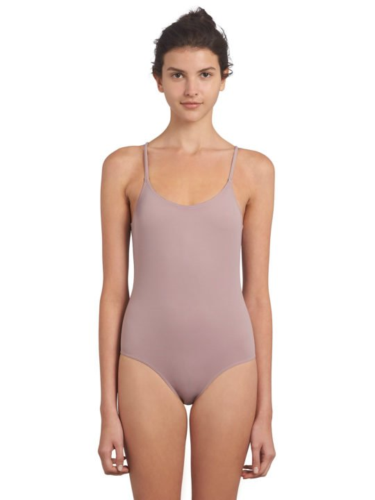 maillot de bain 1 pièce rose ado fashion ultra stretch
